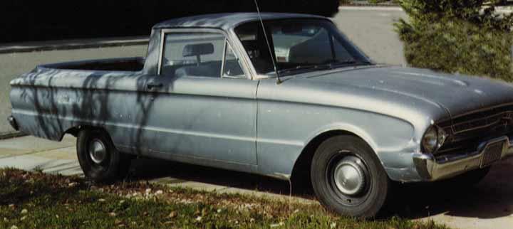 1961 Ford Falcon. 1961 Ford Falcon Ranchero
