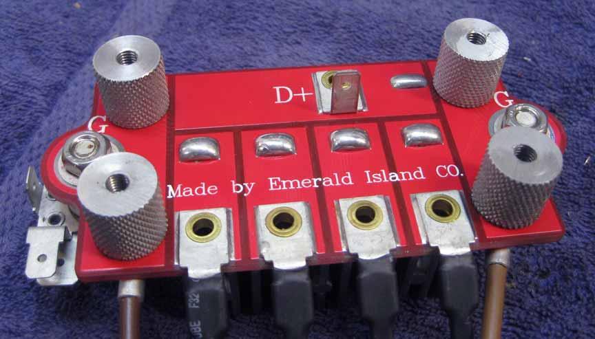 omega 450w alternator upgrade diode board mounts